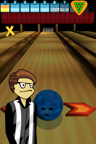 Screenshot I-play 3D Bowling Lite