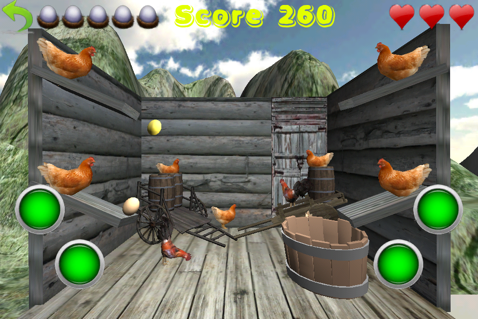 Screenshot Crazy Eggs 3D