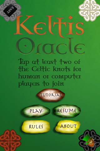 Screenshot Keltis Oracle